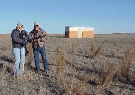 Prairie Chicken Blind