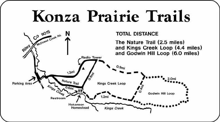 Konza Trail Map